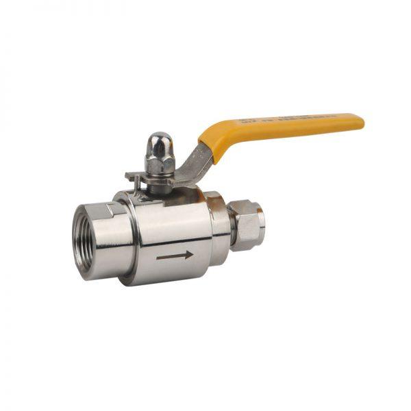 บอลวาล์ว สเเตนเลส T BV Stainless steel Ball valve